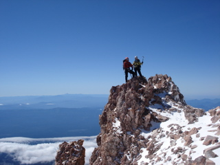 Summit of Mount Shasta